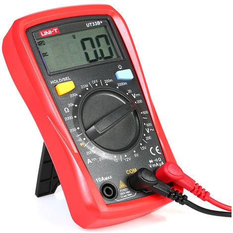 Multimetre Numerique Lcd De Poche Uni-T Ut33B +