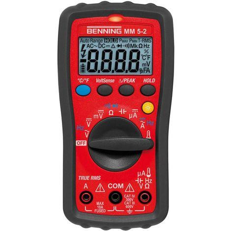 Multimètre numérique MM 5-2 BENNING 1 PCS