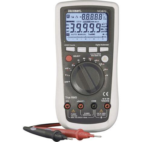 Multimètre numérique Voltcraft® VC870 Q51872