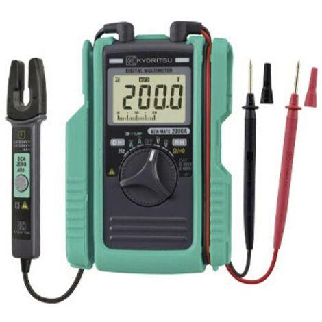 Multimètre , Pince ampèremétrique Kyoritsu KEW Mate 2000 A numérique CAT III 300 V, CAT II 600 V Affichage (nombre de points): 3400 1 pc(s)