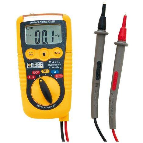 Multimetre sans contact C.A 702 Pocket