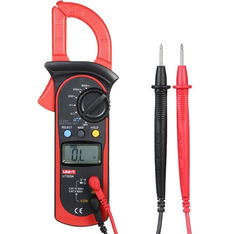 Multimetre, testeur de diodes, avec sac de rangement, LCD