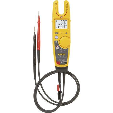 Multimètre , Testeur électrique Fluke T6-1000/EU numérique Etalonnage: d'usine (sans certificat) CAT III 1000 V, CAT IV 600 V Affichage (nombre de X753531
