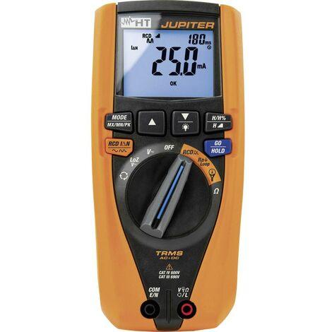 Multimètre , Testeur RCD HT Instruments JUPITER 1010680 Etalonnage (ISO) numérique CAT IV 600 V, CAT III 690 V Affichage (nombre de points): 6000 1 pc(s)