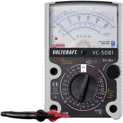 Multimètre VOLTCRAFT VC-5081 VC-5081 analogique CAT III 500 V 1 pc(s)