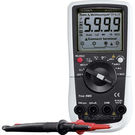 Multimètre VOLTCRAFT VC276 VC-8235910 numérique Etalonnage: dusine (sans certificat) CAT III 600 V Affichage (nombre de points): 6000 1 pc(s)