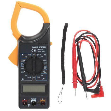 Multímetro Digital a pinza con puntas y cable. - Blíster