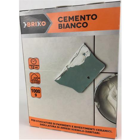 Multipack da 10 confezioni di cemento bianco brixo da 1 chilogrammo ciascuna