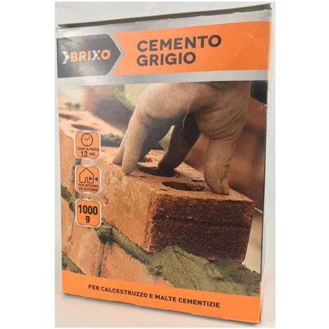 Multipack da 10 confezioni di cemento grigio brixo da 1 chilogrammo ciascuna