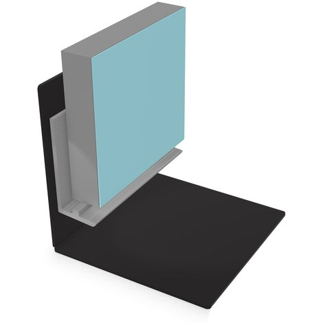 Multipanel Classic 11mm Wall Panel Wet Floor Base Profile Trim Type X Satin Anodised