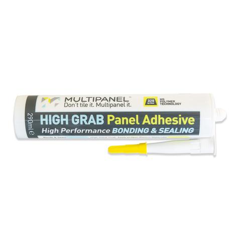 Multipanel High Grab Adhesive & Sealant 290ml White