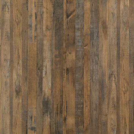 Multipanel Linda Barker Salvaged Plank Elm 2400mm x 1200mm Unlipped Bathroom Wall Panel