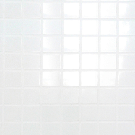 Multipanel White Embossed Tile 2440mm x 1220mm Bathroom Wall Panel