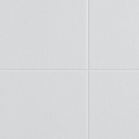 Multipanel White Stone XL Bevelled Tile 2440mm x 1220mm Bathroom Wall Panel