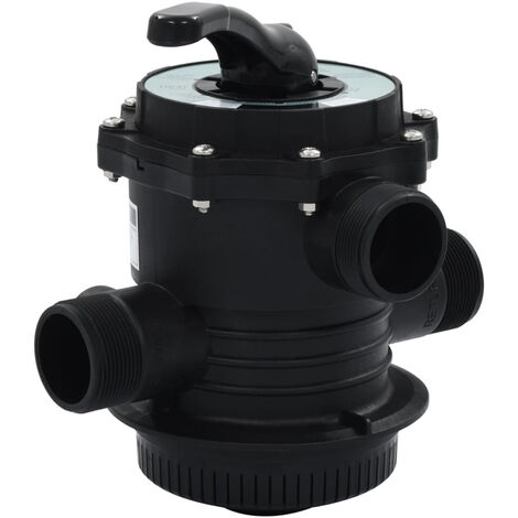 """Multiport Valve for Sand Filter ABS 1.5"""" 6-way"""