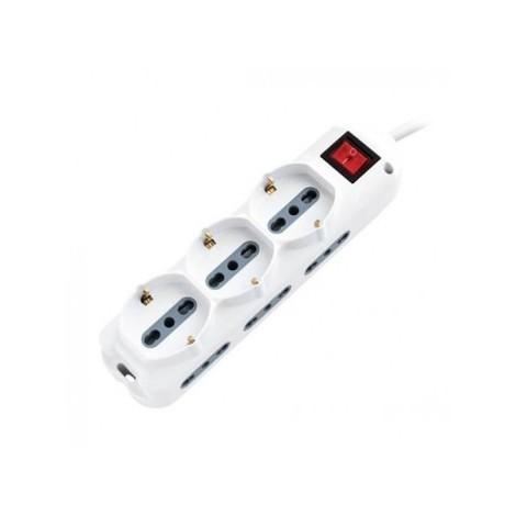 Multipresa 9 prese salvaspazio con interruttore luminoso V-TAC SKU 8735