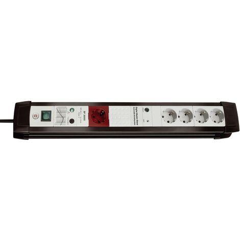 Multiprise maître/esclave x5 Brennenstuhl Premium-Line 5f sw/ligr.Master-Slave 1156050955 noir, gris X99633