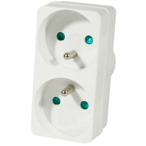 Multiprise sans fil Duplite 2G 16A Blanc