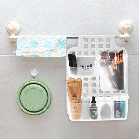 Multipurpose Hanging Over Door Shower Bathroom Cabinet Storage Basket