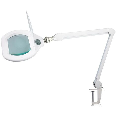 Multirex - Lampe loupe LED Dioptrie 3 - Lentille: 175x128mm.