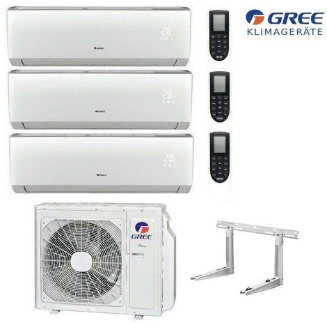 MultiSplit R32 Wifi 3 x 2,1 kW Lomo Klimaanlage GREE Inverter Aussen 6,1 kW