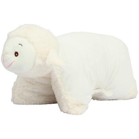 Mumbles Toy Lamb Cushion (One size) (Cream)