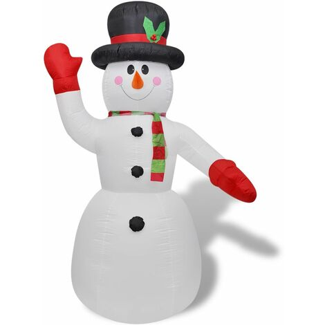 Muñeco de nieve inflable, 240 cm HAXD09226