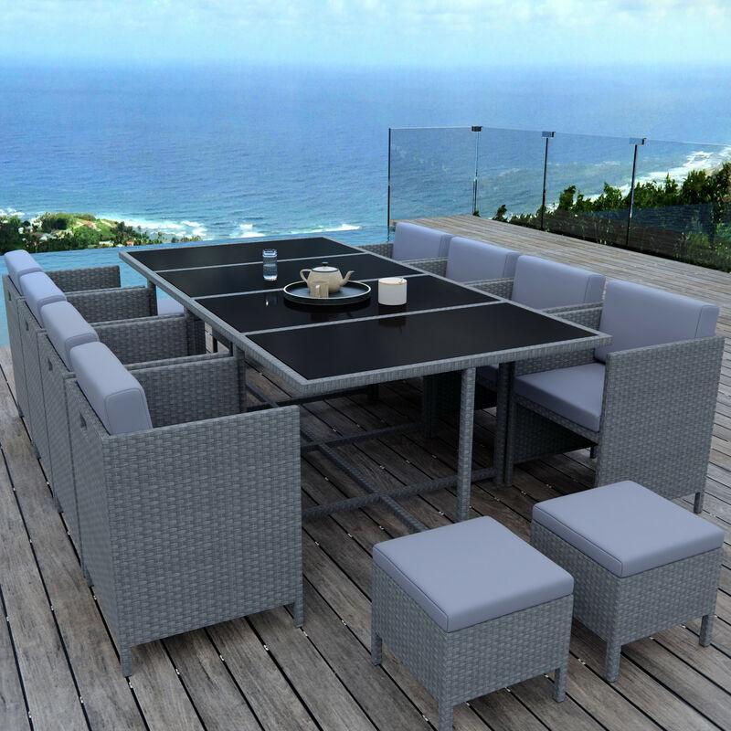 MUNGA 12 Places - Ensemble encastrable salon / table de ...