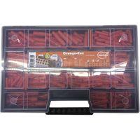 MUNGO MQ/MU Orange-Box 230-teilig Nylon orange