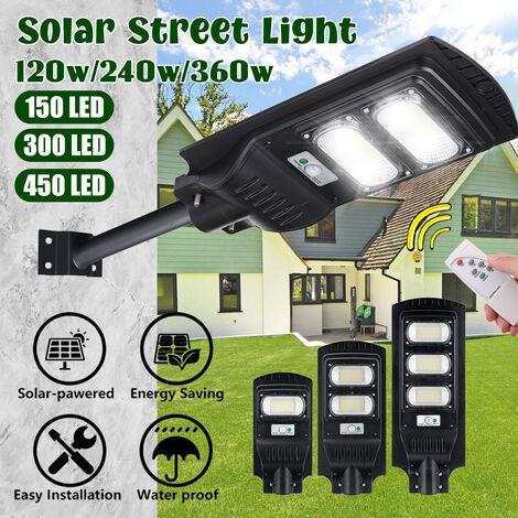 Mur de contr?le à distance de panneau solaire de lumière de capteur de rue de mur de LED (300 réverbère de LED)