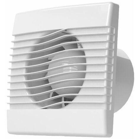mur de qualité cuisine salle de bains hotte 100mm avec capteur d'humidité fan prim de ventilation