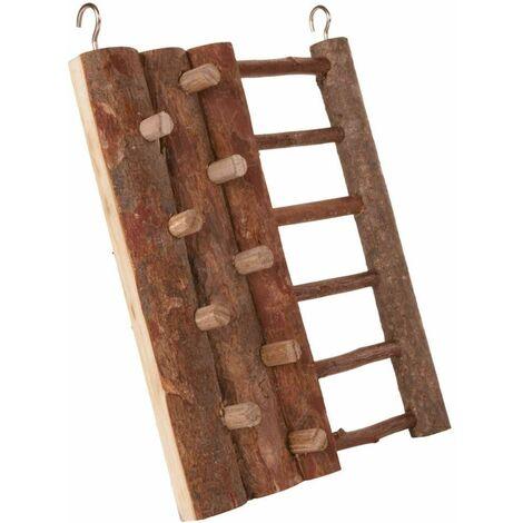 Mur d'escalade, hamster, en bois d'écorce - 16 × 20 cm
