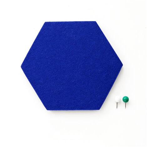 Mur En Feutre Innovant Multi-Fonctionnel Autocollant Amovible Hexagonal Auto-Adhesif Eva Stickers Muraux