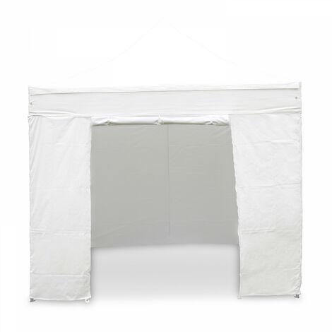 """main image of """"Mur porte zippable pour tente pliante Pro 40MM 3m blanc"""""""