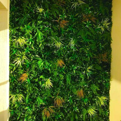 Mur vegetal artificiel savane 5m2 MGS