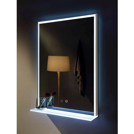 Murcia 500mm x 700mm Rectangular LED Mirror