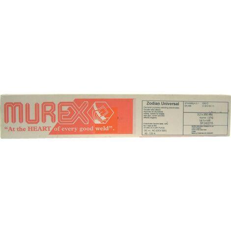 Murex 4754253310 2.5mm ZODIAN UNIVERSAL ELECTRODES 2.4KG