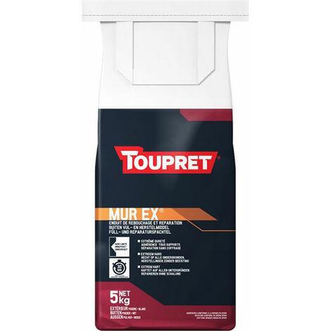 Murex Toupret : Enduit extérieur de rebouchage et réparation