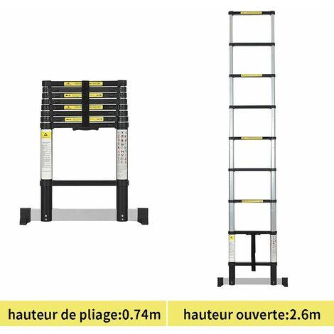 MURIEL - Coiffeuse Table maquillage avec tabouret - Noir - 3 miroirs rabattables - 7 tiroirs - 145 x 90 x 40 cm - Noir