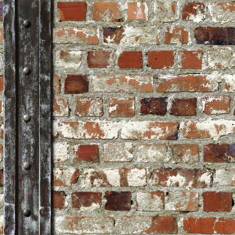 Muriva 102540 Novelties Loft Brick with Beam Wallpaper Roll -