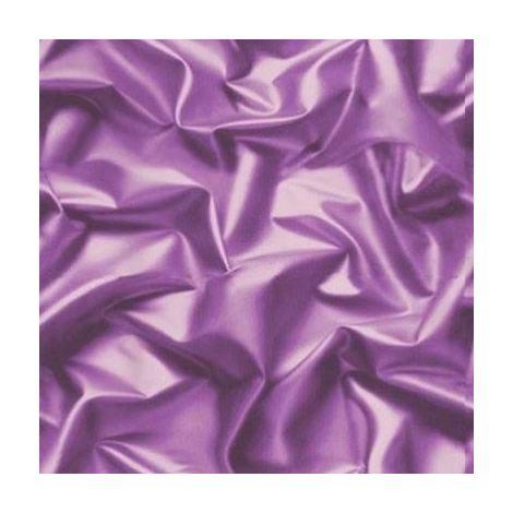 Muriva 3D effect Velvet Silk Fabric Purple Crushed Wallpaper