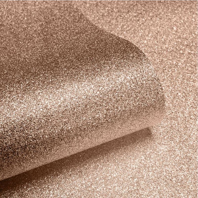 Image of Bronze Copper Sparkle Glitter Wallpaper Shimmer Foil Vinyl Couture - Muriva