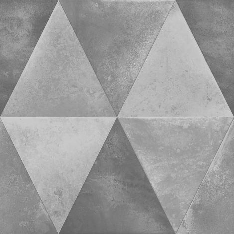 Muriva Caden Silver Wallpaper