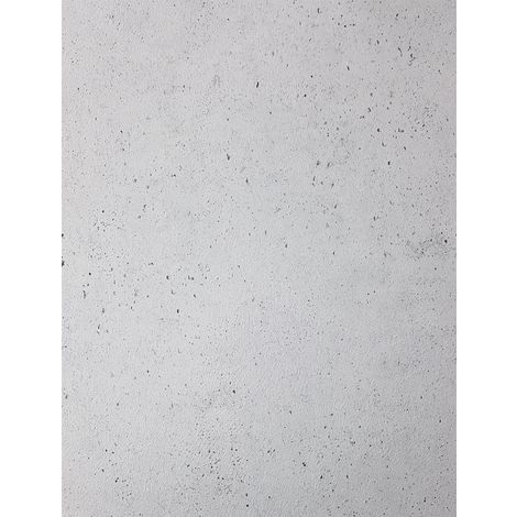 Muriva Cemented Wall Silver Wallpaper Industrial Concrete Stone Light Grey