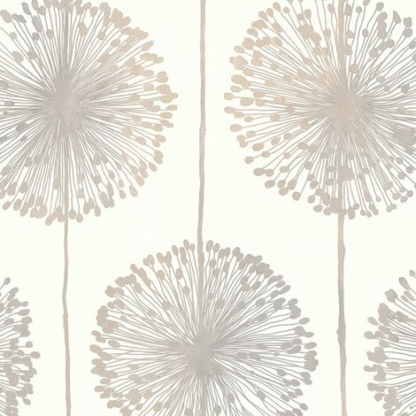 Muriva J04207 Dandelion Wallpaper Beige