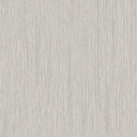 Muriva Ltd J31519 12 Rolls Eton Weave Wallpaper, Grey, Medium
