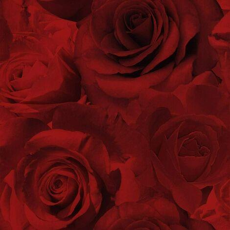 Muriva Madison Red Wallpaper 119502