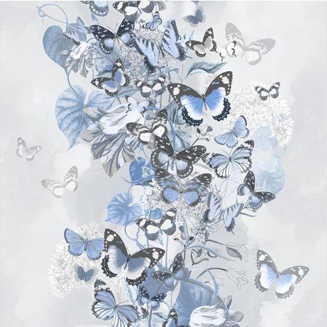 Muriva Summertime Blue Wallpaper