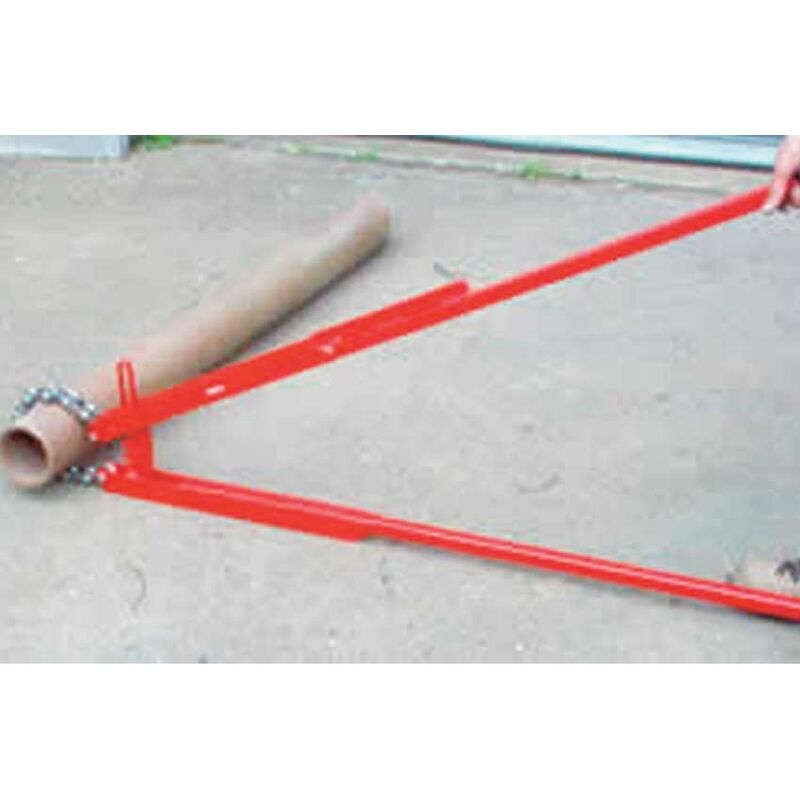 Image of 6in Super 6 Lever Pipe Cutter 100 - 150mm - Mustang