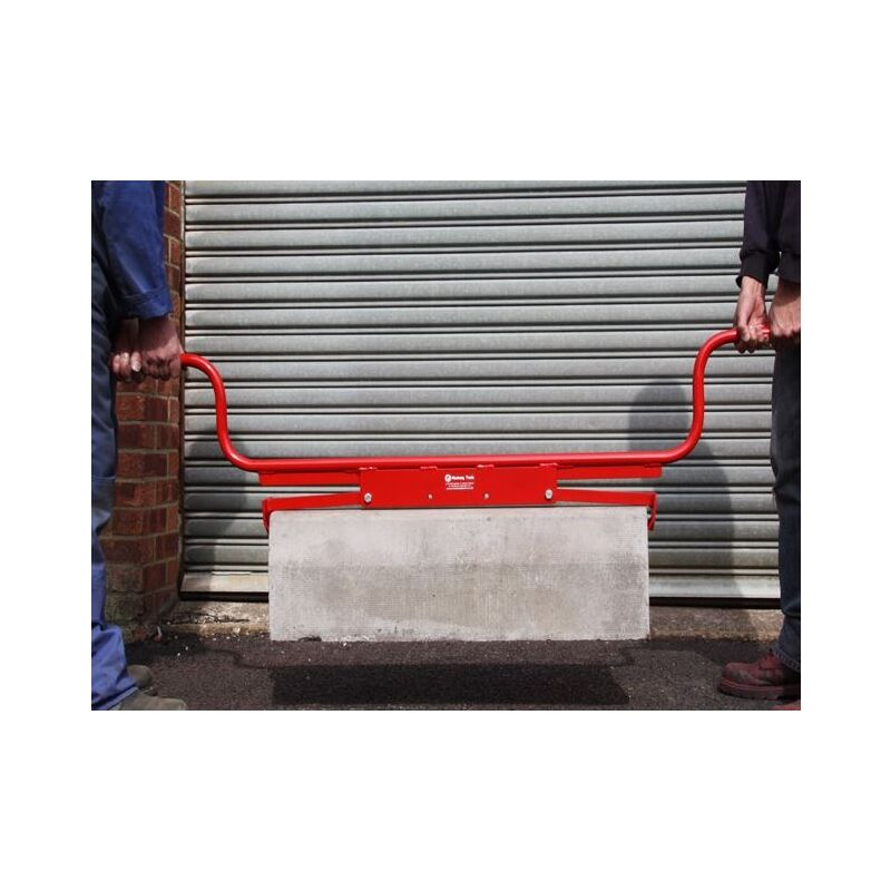 Image of Mustang Kerbstone & Slab Carrier / Lifter - End Grip with High Handle